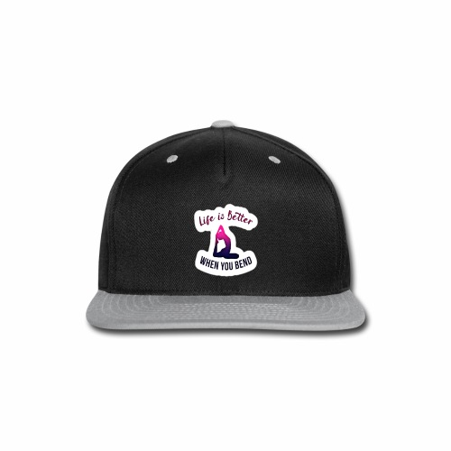 Yoga design apparels - Snap-back Baseball Cap