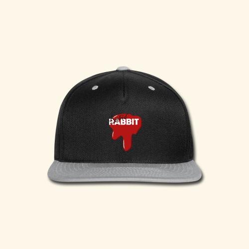 Fake Band Logo RABID RABBIT - Snap-back Baseball Cap
