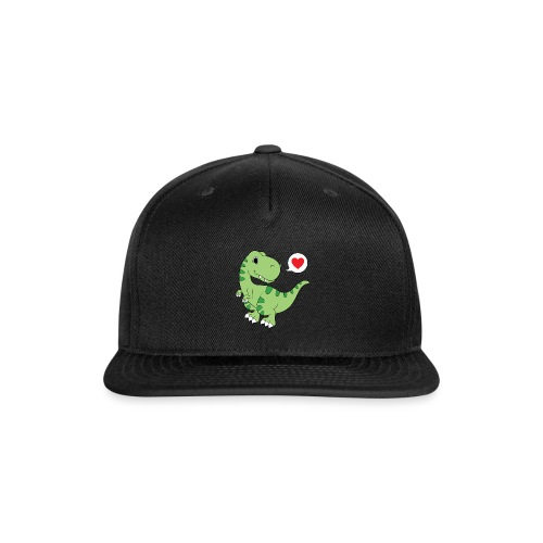 Dinosaur Love - Snap-back Baseball Cap