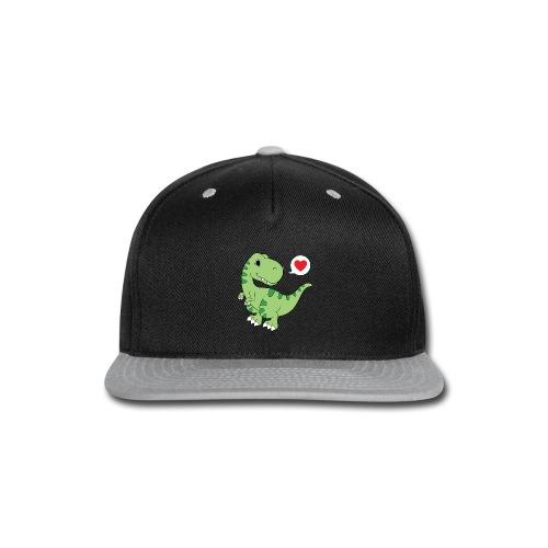 Dinosaur Love - Snap-back Baseball Cap