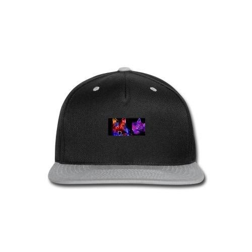 neon animals - Snap-back Baseball Cap