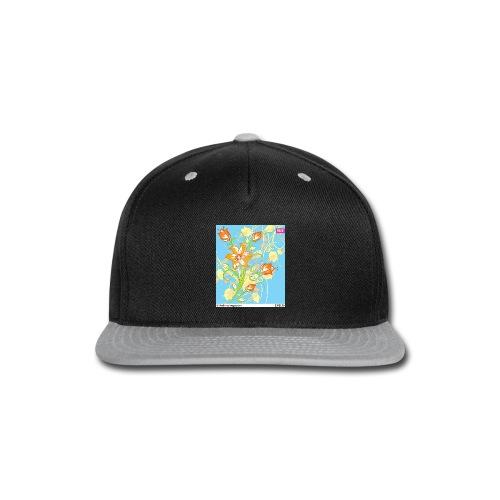 flowers67 - Snap-back Baseball Cap