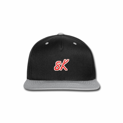 8K - Snap-back Baseball Cap