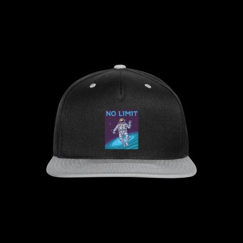 NO LOMIT - Snap-back Baseball Cap