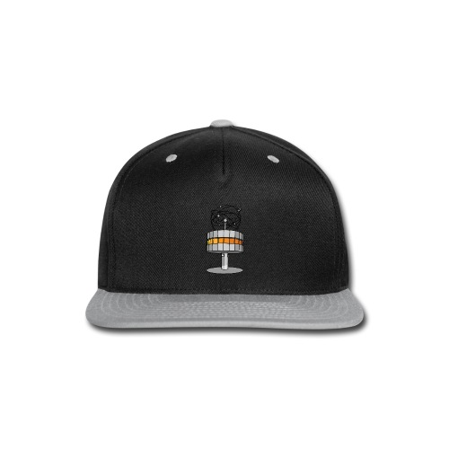 World time clock Berlin - Snap-back Baseball Cap