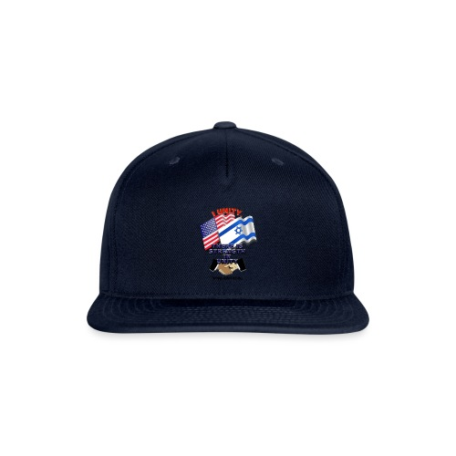 ISRAEL USA E02 - Snap-back Baseball Cap