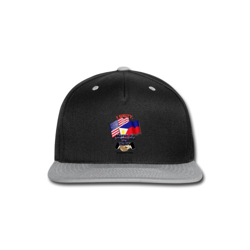 UnityPhilippinoUSA E02 - Snap-back Baseball Cap