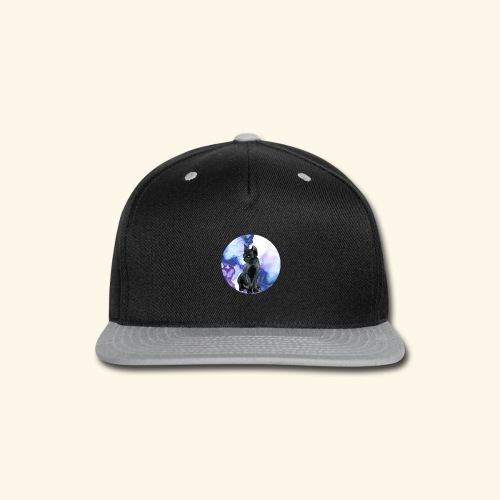 world of cats Watercolor Design - Snap-back Baseball Cap