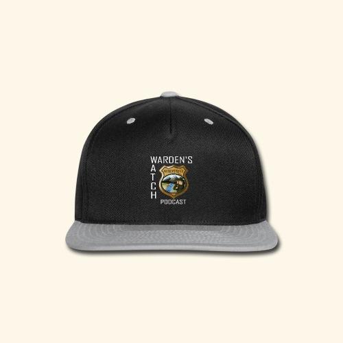 warden s watch front3 - Snap-back Baseball Cap