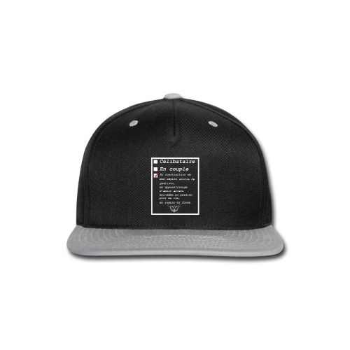 Célibataire en construction - Snap-back Baseball Cap