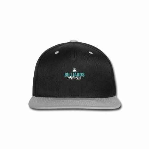 BILLIARDS PRINCESS - Snap-back Baseball Cap