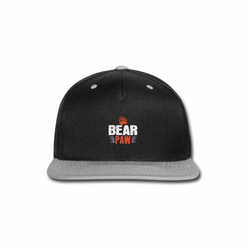 Bear paw - Snap-back Baseball Cap