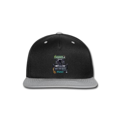 WMEG internet Radio logo - Snap-back Baseball Cap