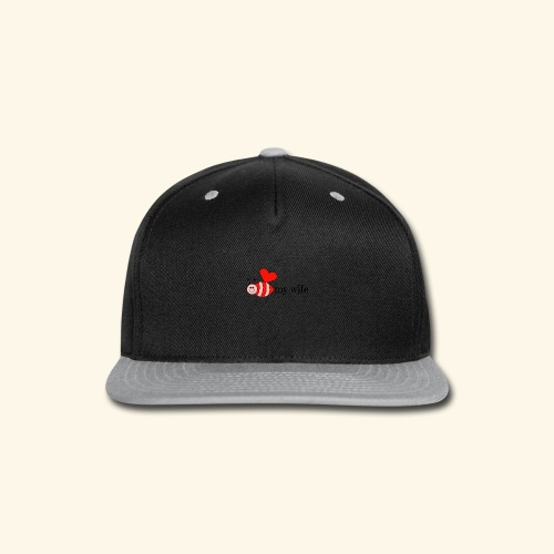 Valentines Day Bee My Wife Design - Snap-back Baseball Cap
