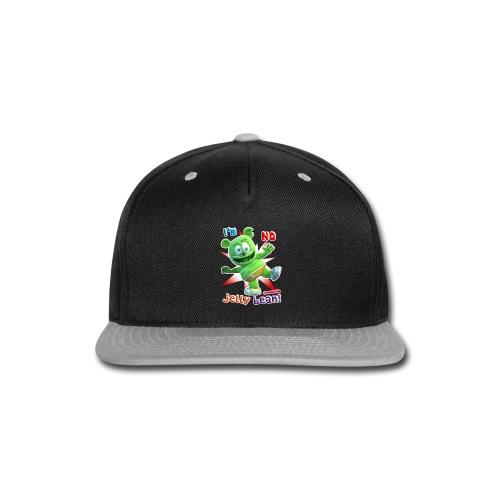I'm No Jelly Bean - Snap-back Baseball Cap