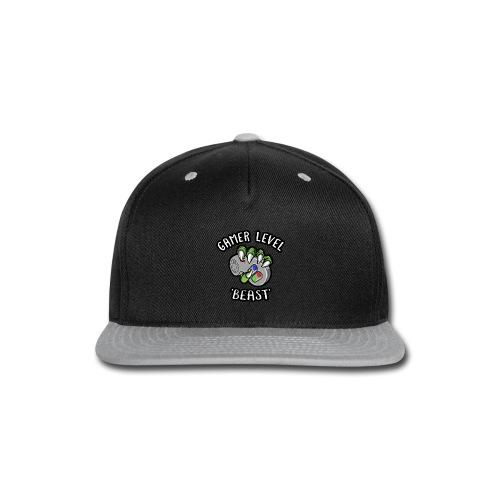 GAMER LEVEL - Snap-back Baseball Cap