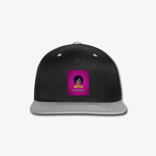 Fly Girl Purp - Snap-back Baseball Cap