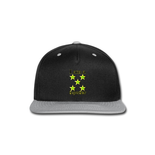 I am a SuperStar all collections - Snap-back Baseball Cap