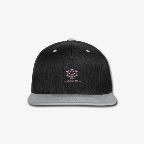 Innovative Health & Fitness Logo - Snap-back Baseball Cap