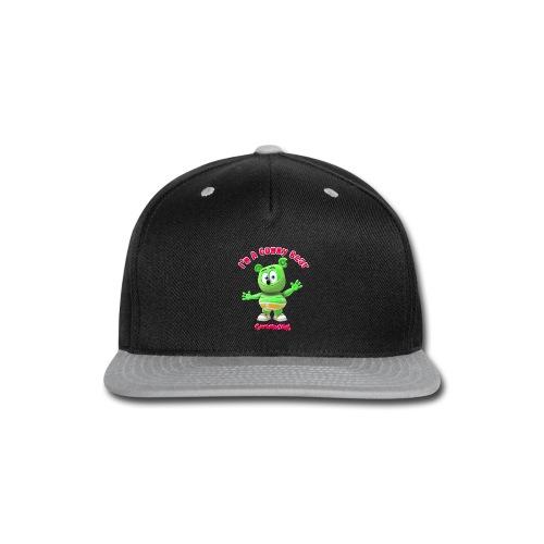 I'm A Gummy Bear - Snap-back Baseball Cap
