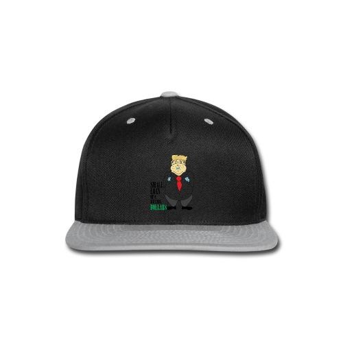 Small Loan TRUMP Men's T-Shirt - Snap-back Baseball Cap