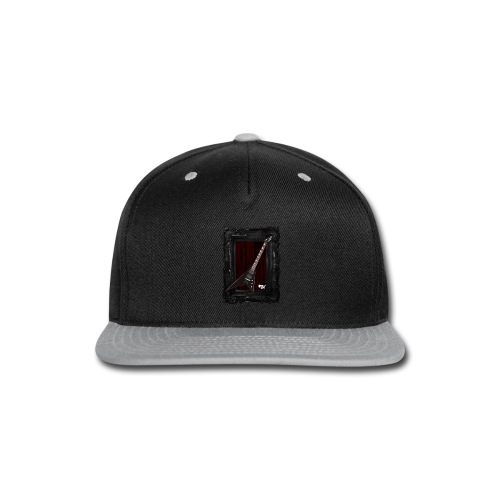 Tshirt_Jackson_Framed_V2 - Snap-back Baseball Cap