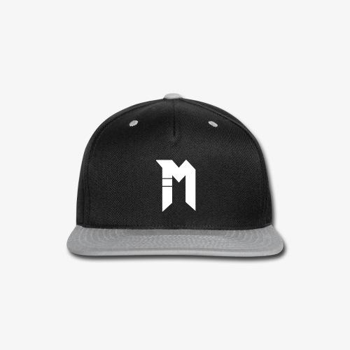 Bestsellers white logo - Snap-back Baseball Cap