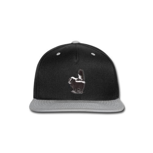 Cool cute funny Skunk - Snap-back Baseball Cap