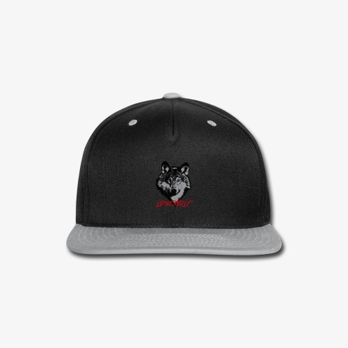 Lone Wolf - Snap-back Baseball Cap