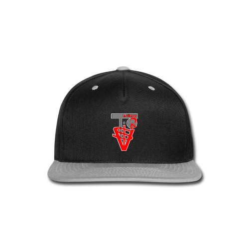 new To$vIlumni logo 2 filter 1 - Snap-back Baseball Cap