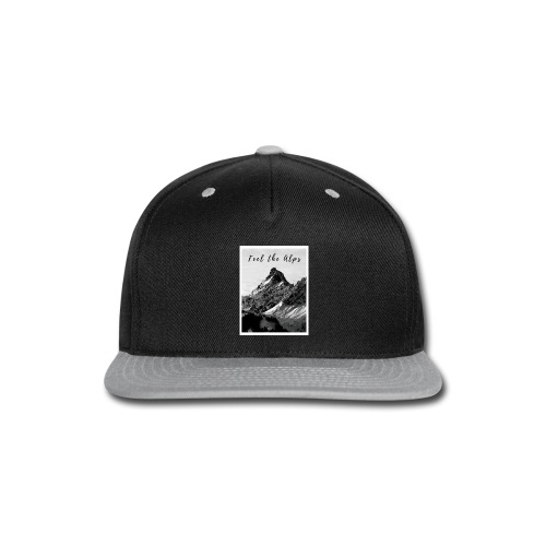 Feel the alps - Snap-back Baseball Cap