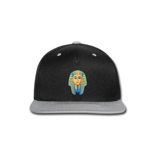 Egyptian Golden Pharaoh Burial Mask - Snap-back Baseball Cap