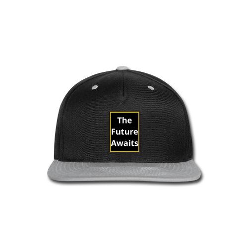 Ouwais Vlogs Merchandise (Gold Edition) - Snap-back Baseball Cap