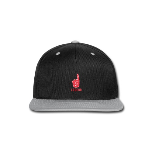 Number 1 Legend - Snap-back Baseball Cap