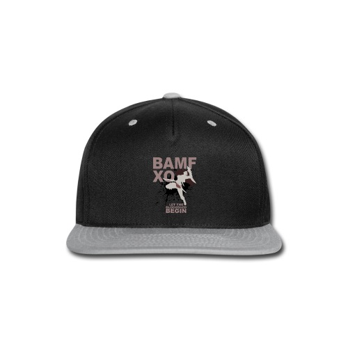 katggg png - Snap-back Baseball Cap