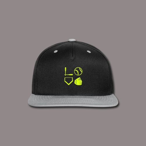 The love of the game - Snap-back Baseball Cap