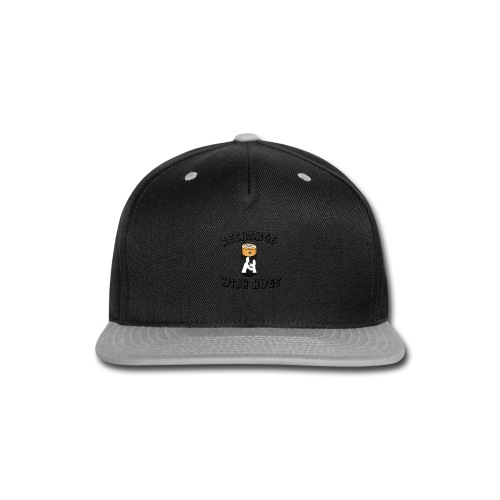 Recharge with hugs - Snap-back Baseball Cap