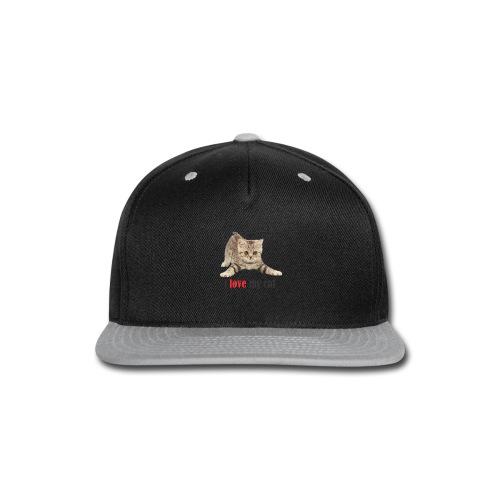 lovecat - Snap-back Baseball Cap