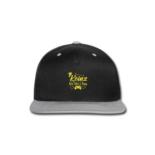 Live Like A King - Snap-back Baseball Cap