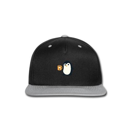 Cute Penguin Coffee - Snap-back Baseball Cap
