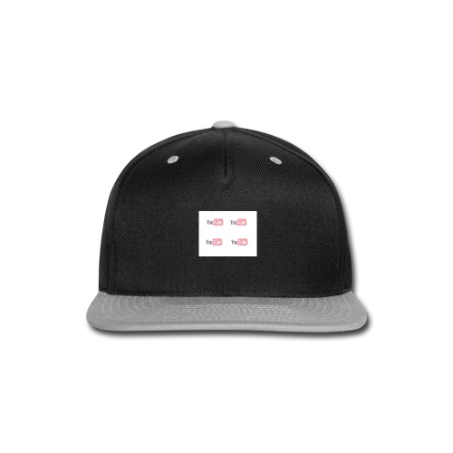 youtube_x4 - Snap-back Baseball Cap
