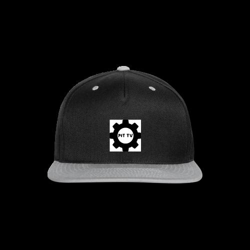 MoshPitTV logo - Snap-back Baseball Cap