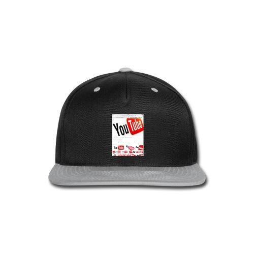 Brady Allaby Vlogs - Snap-back Baseball Cap