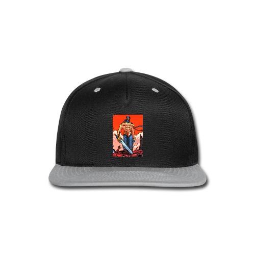 P4TD png - Snap-back Baseball Cap