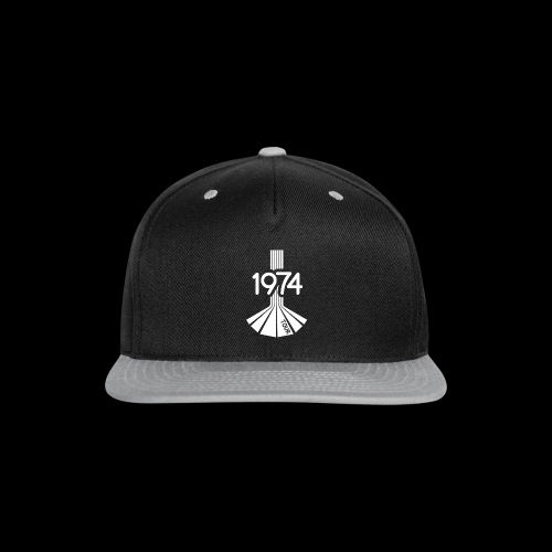 1974 Tour Monochrome Logo - Snap-back Baseball Cap