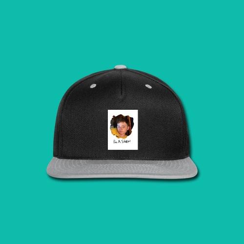 imma shirt. (White shirt is recomemded) - Snap-back Baseball Cap
