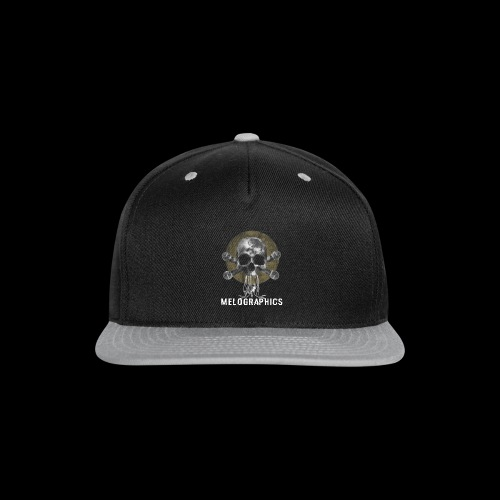 No Music Is Death - Snap-back Baseball Cap