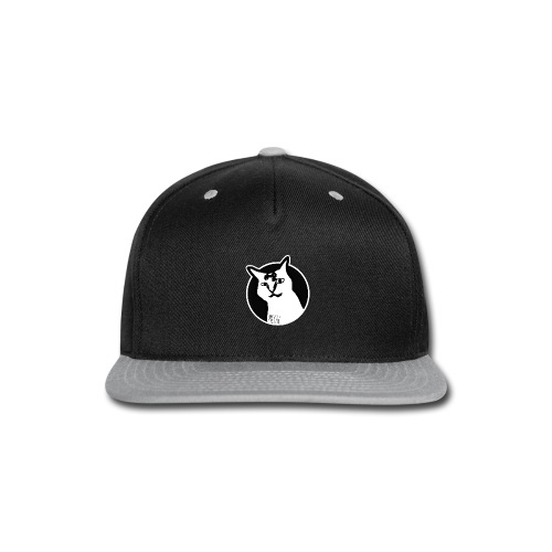 CAT MEOW - Snap-back Baseball Cap