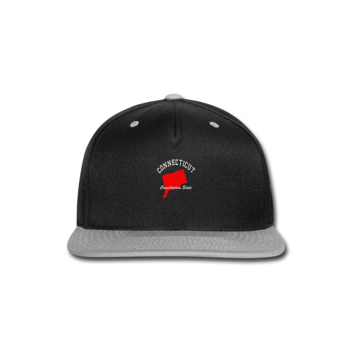 Connecticut Constitutions state - Snap-back Baseball Cap