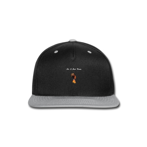 Official Gear of Ask A Black Woman Solo Show - Snap-back Baseball Cap